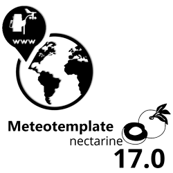 Website of another weatherstation